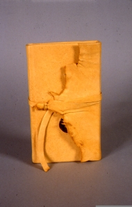 Wallet Bound in Deerskin